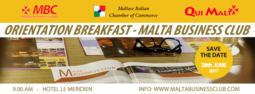 MALTA BUSINESS CLUB 28 JUNE 2017
