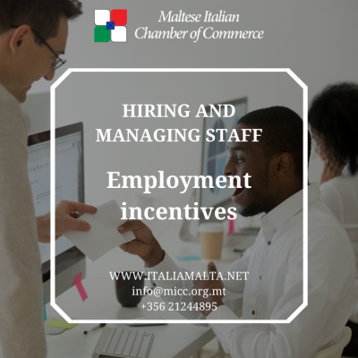 Employment-incentives