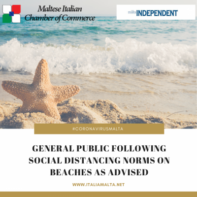 General-public-following-social-distancing-norms-on-beaches-as-advised