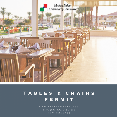 Tables--chairs-permit