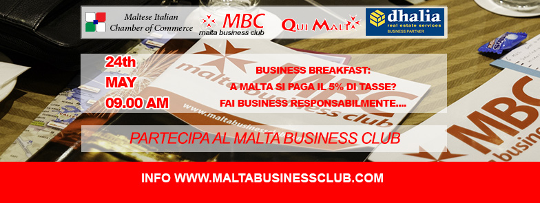 malta business club 24MAY 2017
