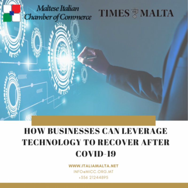 HOW BUSINESSES CAN LEVERAGE TECHNOLOGY TO RECOVER AFTER COVID-19
